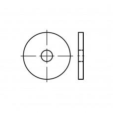 DIN 1052 сталь цинкове покриття шайби для дерев'яних конструкцій, посилені, нормальна версія розмір: 23 x 80 x 8 (50 штук)