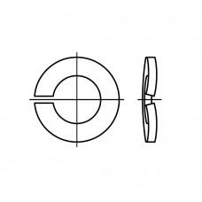 DIN 128 пружинна сталь форма B механічне покриття цинком пружинні шайби, хвилясті B 6 (1000 штук)