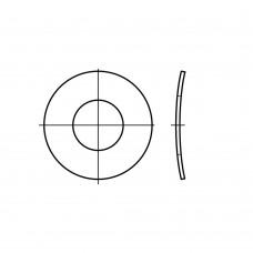 DIN 137 пружинна сталь форма B механічне покриття цинком пружинні шайби, хвилясті B 8 (1000 штук)