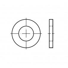 DIN 1440 сталь цинкове покриття шайби для шпильок суцільнометалеві класс точності A (m) розмір: 3 x 6 x 0,8 (1000 штук)