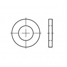 DIN 1441 сталь шайби для шпильок суцільнометалеві класс точності C (g) розмір: 62 x 80x 9 (10 штук)