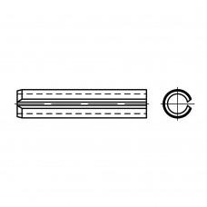 DIN 1481 1.4310 штифт разрізний, важка форма розмір: 6 x 18 (25 штук)
