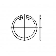 DIN 472 1.4122/1.4310 стопорне кільце для отвору, стандартна версія розмір: 38 x 1,5 (25 штук)