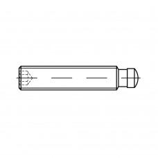 DIN 6332 5.8 форма IS з коричневим покриттям гвинти встановні з прижимною цапфою, загартовані, з внутрішнім шестигранником розмір: IS M 12 x 70 (10 штук)