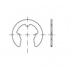 DIN 6799 пружинна сталь швидкоз'емні стопорні кільця (шайби) для вала розмір: 8 (250 штук)