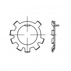 DIN 70952 сталь форма A стопорні шайби розмір: A 26 (50 штук)