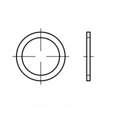 DIN 7603 алюміній форма A ущільнювальні кільця розмір: 6 x10 x1 (100 штук)