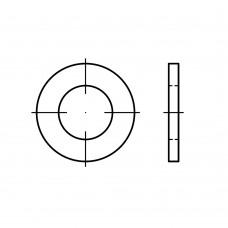 DIN 7989-1 сталь 100 HV PK C гарячоцинковані шайби для стальних конструкцій, суцільнометалеві класс точності C розмір: 10/11 x 20 x8 (100 штук)