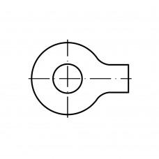 DIN 93 A4 нерж. шайба фіксуюча з лапкою 8,4 (25 штук)