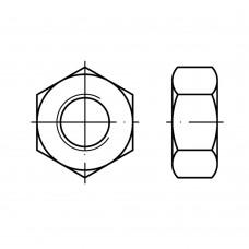 DIN 934 латунь нікелеве покриття шестигранні гайки розмір: M 3 (1000 штук)