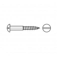 DIN 96 латунь шуруп для дерева з напівкруглою головкою 4,5 x 35 (200 штук)