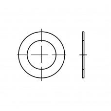 DIN 988 сталь шайби плоскі регулюючі 18 x 25x0,1 (100 штук)