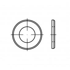 ISO 7090 латунь плоскі шайби, з фаски нормальна серія, класс точності A розмір: 16 (100 штук)