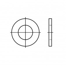 ISO 7091 сталь 100 HV плоскі шайби, нормальна серія, класс точності C розмір: 52 (25 штук)