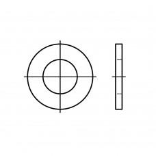 ISO 7091 сталь 100 HV цинкове покриття плоскі шайби, нормальна серія, класс точності C розмір: 30 (100 штук)