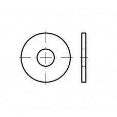ISO 7093-2 латунь плоскі шайби, збільшена серія, класс точності C розмір: 8 (500 штук)