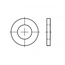 ISO 8738 сталь 160 HV жовтий цинк A3C шайби для шпильок суцільнометалеві класс точності A розмір: 50 (50 штук)